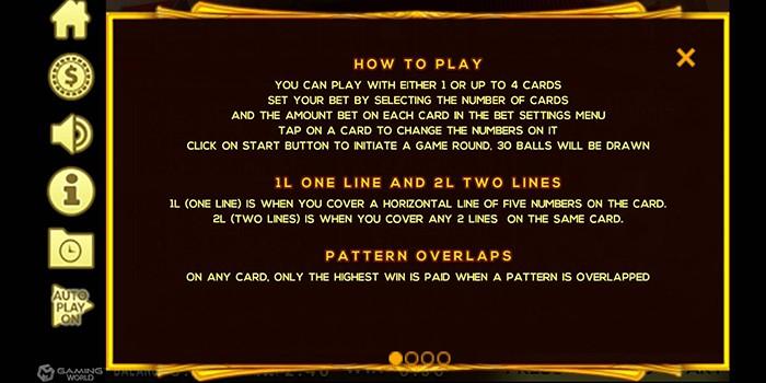 วิธีเล่นเกม Bingo online Slotxo